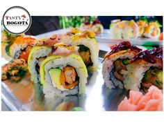 Variedad de sushi La susheria
