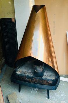 Aiheeseen liittyvä kuva Modern Fireplace, Heating Systems, New Homes, Interior Design, House, Cabin, Home Decor, Nest Design, Decoration Home