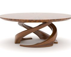 Trinity table from Randolph & Hein  #furniture #table #dining
