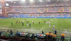 Passione gigliata: resoconto di un match, quello fra Genoa - Fiorentina finito nel temporale di Marassi. Fiorentina non pervenuta fino all'interruzione