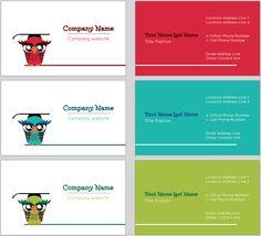 Clroom Owl Business Card Template Cards Design