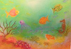 """Nieuwe kaart atelier Exler """" Onderwaterwereld"""""""