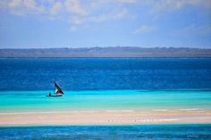 Fishing in turquoise waters, Pemba, Mozambique