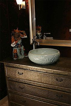 Chinese Bowl Vessel Sink