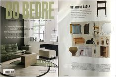 AYTM's Flos vase featured in Bo Bedre Norway, June 2020. Norway, Blogging, This Is Us, June, Design, Home Decor, Room Decor, Blog, Design Comics