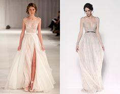 Paolo Sebastian stunning bridal dress