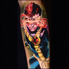 Cyclops tattoo by Ben Ochoa