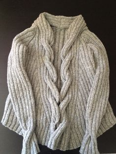 Ravelry: helloloodle's #03 Cable Front Jacket