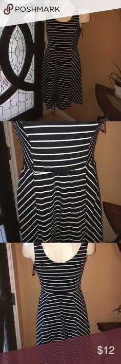 Mossimo striped dress NWT mossimo striped tank dress Mossimo Supply Co Dresses Midi