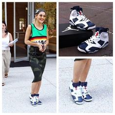 There's no denying Rita Ora knows how to rock her kicks. You can still cop. Air  Jordan ViNike ...