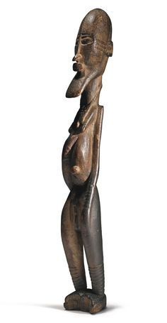 Djennenke Hermaphrodite Figure,Pre-Dogon People, Mali, ca. 11th - 14th century | lot | Sotheby's