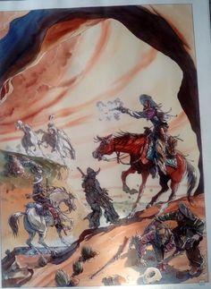 Couverture de la version normale de Buffalo runner par Tiburce Oger - Couverture originale