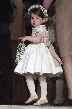 Prince George and Princess Charlotte as Ring Bearer and Flower Girl - George and Charlotte at Pippa Middleton's Wedding