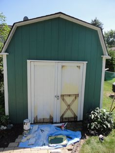 General Splendour : REVEAL: My $40 Shed Makeover
