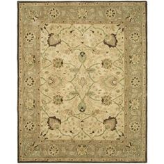 @Overstock - An ancient pot-dying technique and dense, thick pile highlight this hand-spun traditional rug. Premium wool is used with a luster wash finish to give it a soft silky finish to ensure this is one of the most luxurious rugs.http://www.overstock.com/Home-Garden/Safavieh-Handmade-Anatolia-Ivory-Brown-Hand-spun-Wool-Rug/7295862/product.html?CID=214117 $79.89