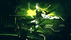 Overwatch Genji Skin Wallpaper Picture ~ Jllsly