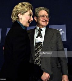 "Soros Clinton- Let's keep in mind the Clooneys are huge Hillary supporters and held $15 million fundraisers for her in California. Not a problem. Many 1%ers do. However John Podesta is co-founder of Clooney's ""Enough"" project, his ""charity"" housed in George Soros's Center for American ""Progress"". He is also a Clinton lobbyist for Sberrbank CIB USA Inc, a subsidiary of Russia's largest bank, and his Podesta Group was hired by the Alliance for Shared Value-part of the Islamic Gulen movement..."