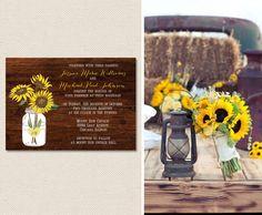 Sunflower Wedding Inspiration #sunflower #wedding.   I'm definitely having sunflowers at my Fall wedding:)