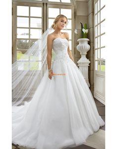 Prinsess Axelbandslös Snöra upp Bröllopsklänningar 2014