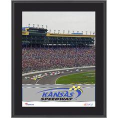 """Fanatics Authentic Kansas Speedway 10.5"""" x 13"""" Sublimated Plaque - $29.99"""