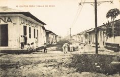 Calle de Arica. Iquitos [fotografía]