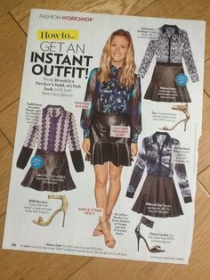 Fall outfit night out People StyleWatch Mag tips