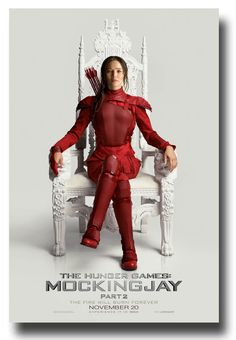 Katniss finally arrives, see more MockingJay Part 2 posters here - http://concertposter.org/mockingjay-part-2-movie-promo-flyer-poster-mocking-jay-hunger-games-kat-throne/