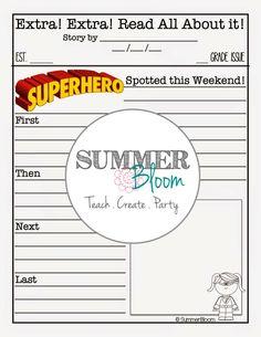 Superhero Weekend News ~ From SummerBloom