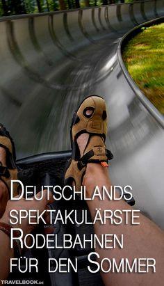 Mit viel Wind um die Ohren durch Steilkurven und 360-Grad-Kreisel sausen: Sommerrodeln macht Laune. Das Freizeitvergnügen ist in Deutschland an mehr als 100 Orten möglich. Welche Bahnen besonders locken – inklusive Fahrtipps eines echten Rennrodlers.