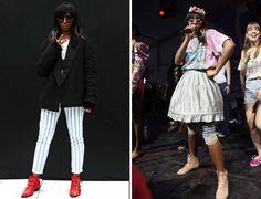 Santigold changes up her SXSW style!