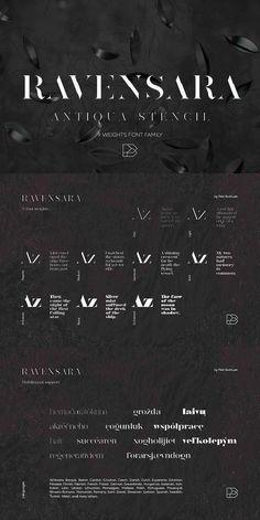 Ravensara Stencil 9 fonts. Fonts, Graphic Design Fonts, Logo Design, Typeface Font, Print Fonts, Typography Alphabet, Typography Letters. Typeface Font, Typography Fonts, Typography Alphabet, Cool Fonts, New Fonts, Graphic Design Fonts, Logo Design, European Languages, Print Fonts