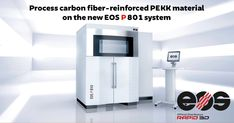 EOS launches the EOS P 810 polymer industrial printing platform and material - Rapid Large Frames, Carbon Fiber, Industrial Design, Eos, 3d Printing, Campaign, Designers, Product Launch, Platform