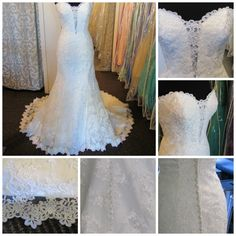 lace dress with Plunging neckline and fitted silhouette