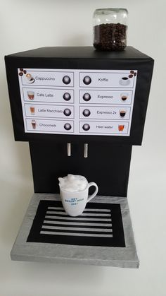 Surprise koffiemachine
