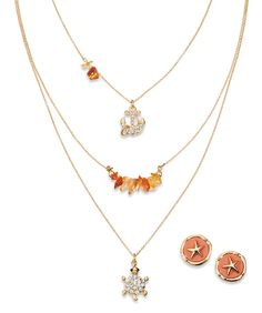 Dainty and sweet LC Lauren Conrad Layered Necklaces