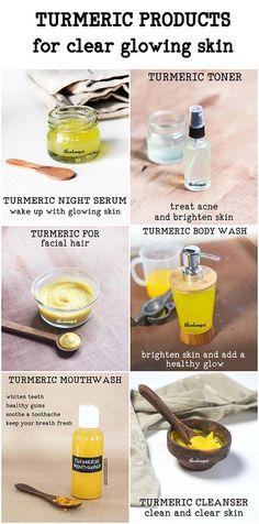 Amazing DIY Turmeric beauty products