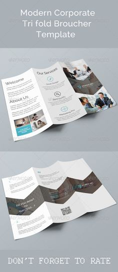 a4 half fold brochure template pinterest brochure template