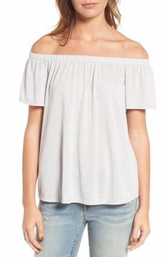 Hinge Off the Shoulder Top