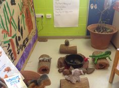 Wombat Stew role play Early Education, Early Childhood Education, Wombat Stew, Play Corner, Role Play Areas, Australia Animals, Aboriginal Culture, Language And Literature, Biomes