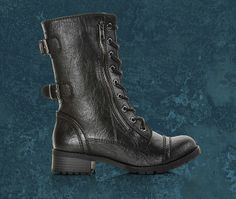 Get the women's Soda Dome-HA boot and rock this season's hottest trend - edgy footwear at Shoe Carnival