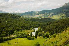 Toma desde mirador río Simpson Chile, Golf Courses, River, Explore, Mountains, Nature, Outdoor, The World, Landscape Photos