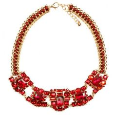 Colier rosu Wear Red, How To Make, How To Wear, Necklaces, Jewelry, Fashion, Red Peppers, Moda, Jewlery