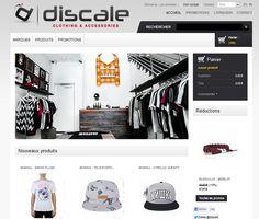 Discale, boutique en ligne de vêtements Streetwear et Skate http://www.clicboutic.com/blog/2013/05/24/boutique-de-la-semaine-discale/