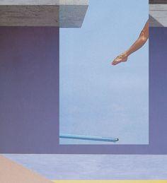Zoe Croggon, Dive #4 (Splash), 2013, C-type print, edition of three, 80 x 72 cm