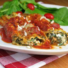Meatless Manicotti | Alida's Kitchen @alidaskitchen