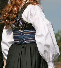 Folk Costume, Costumes, Norway, Bell Sleeve Top, Scandinavian, Oc, Makeup, Design, Women