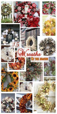 15 Wreaths of the Season - Deja Vue Designs