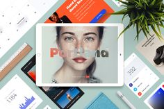 """Check out this @Behance project: """"Portland UI Kit for Sketch+PS""""…"""