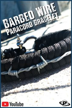 Use micro cord to make a realistic barbed wire design on a fishtail bracelet. Less permanent than a tattoo! Bracelet design adapted from barbed wire stitchin. Fishtail Friendship Bracelets, Diy Friendship Bracelets Tutorial, Leather Bracelet Tutorial, Seed Bead Bracelets Tutorials, Fishtail Bracelet, Paracord Tutorial, Paracord Knots, Paracord Bracelets, Survival Bracelets