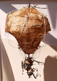 Steampunk art: airballoon_00 by Raskolnikov0610.deviantart.com on @deviantART